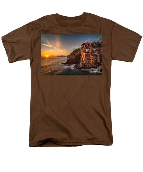 Riomaggiore Rolling Waves T-Shirt by Mike Reid