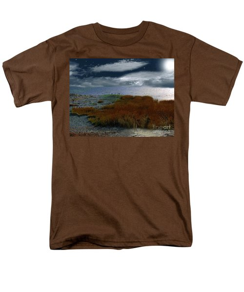 Salt Marsh at the Edge of the Sea T-Shirt by RC DeWinter