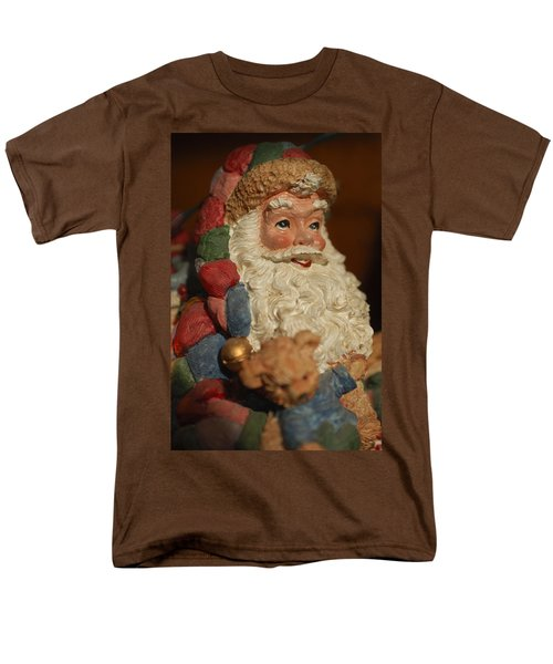 Santa Claus - Antique Ornament - 09 T-Shirt by Jill Reger