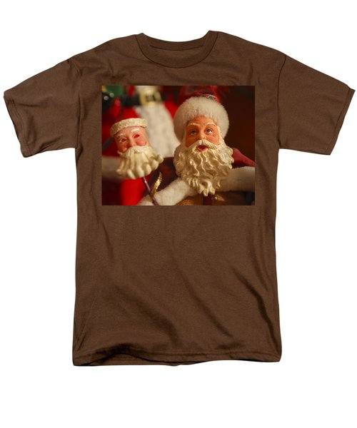 Santa Claus - Antique Ornament - 12 T-Shirt by Jill Reger