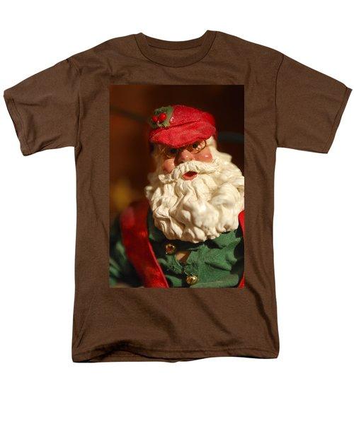 Santa Claus - Antique Ornament - 16 T-Shirt by Jill Reger