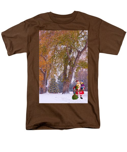 Santa Claus In the Snow T-Shirt by James BO  Insogna