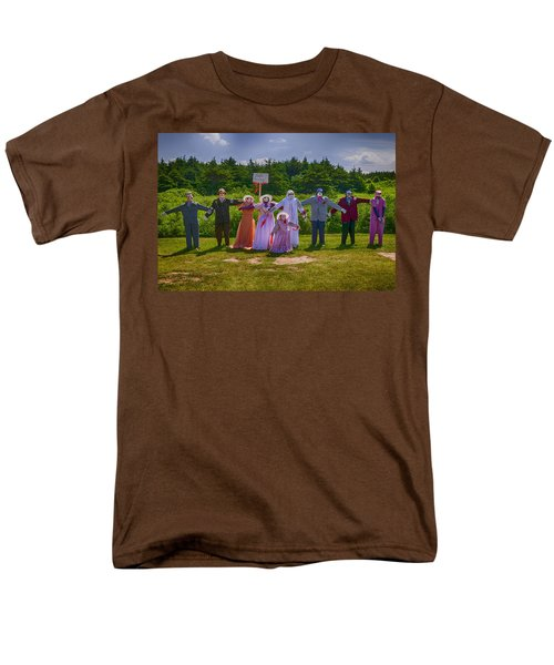 Scarecrow Wedding T-Shirt by Garry Gay