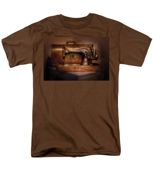 Sewing Machine  - Singer  T-Shirt by Mike Savad