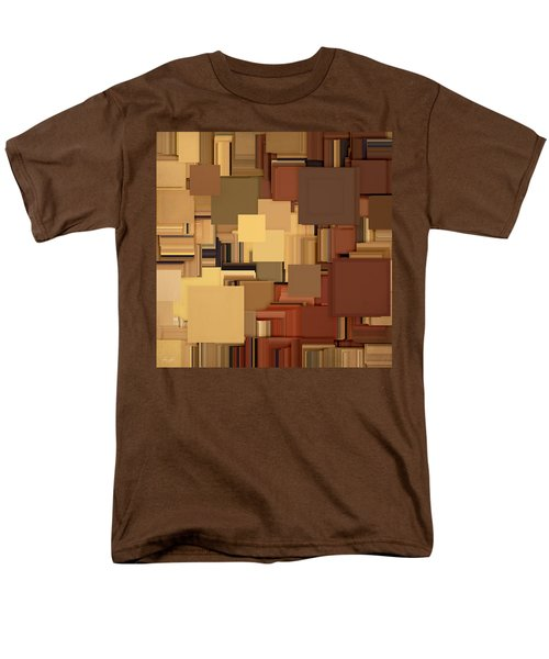 Shades Of Brown T-Shirt by Lourry Legarde
