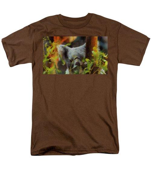 Shy Koala Men's T-Shirt  (Regular Fit) by Dan Sproul