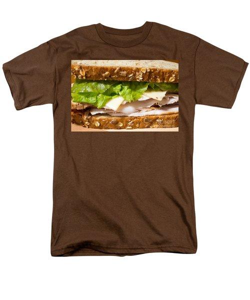 Smoked Turkey Sandwich Men's T-Shirt  (Regular Fit) by Edward Fielding