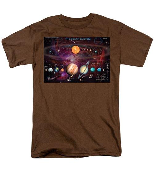 Solar System 1 T-Shirt by Garry Walton