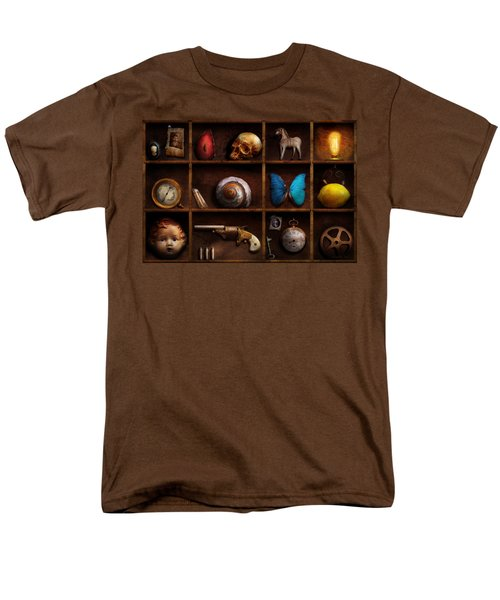Steampunk - A box of curiosities T-Shirt by Mike Savad