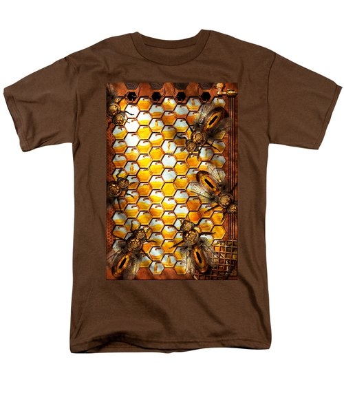 Steampunk - Apiary - The hive T-Shirt by Mike Savad