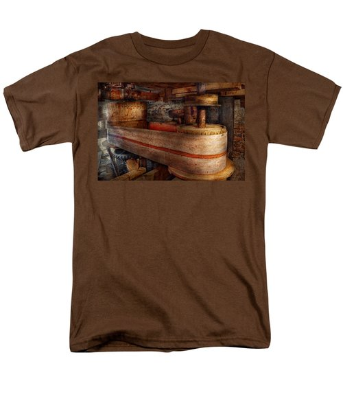 Steampunk - Belts - Old school is best T-Shirt by Mike Savad