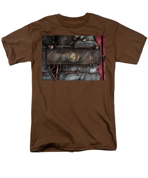 Steampunk - Connections   T-Shirt by Mike Savad