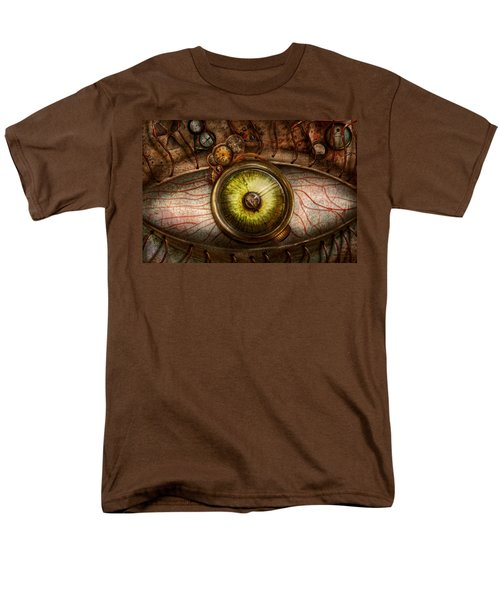 Steampunk - Creepy - Eye on technology  T-Shirt by Mike Savad