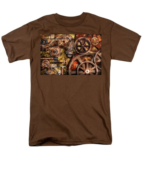 Steampunk - Gears - Inner Workings T-Shirt by Mike Savad