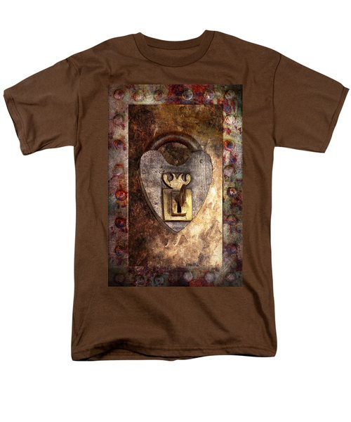 Steampunk - Locksmith - The key to my heart T-Shirt by Mike Savad