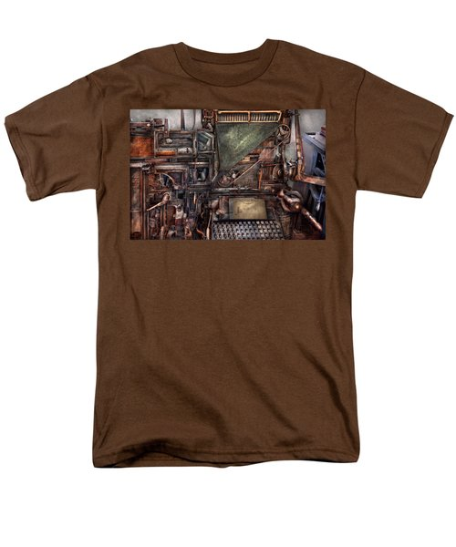 Steampunk - Machine - All the bells and whistles  T-Shirt by Mike Savad