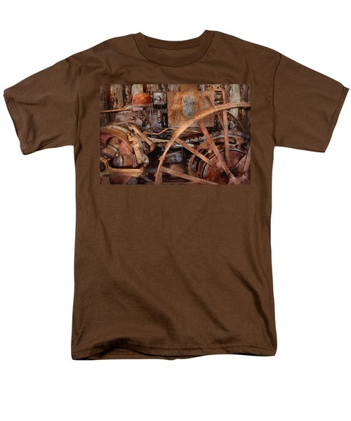 Steampunk - Machine - The industrial age T-Shirt by Mike Savad