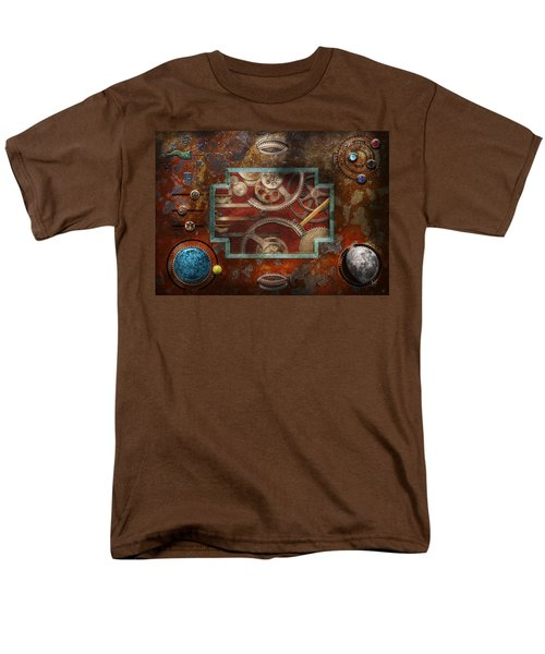 Steampunk - Pandora's box T-Shirt by Mike Savad
