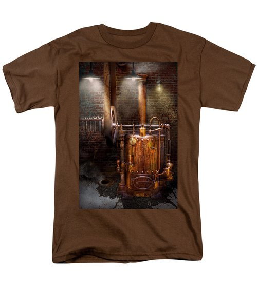 Steampunk - Powering the modern home T-Shirt by Mike Savad