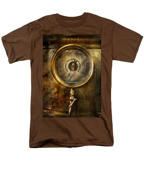 Steampunk - The pressure gauge T-Shirt by Mike Savad