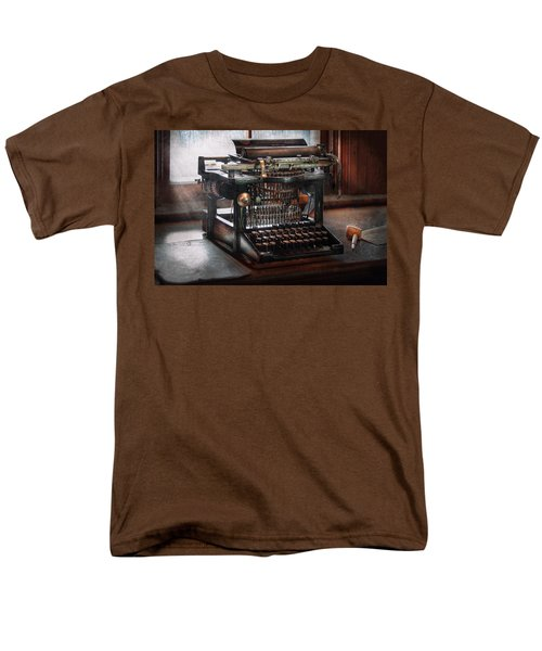 Steampunk - Typewriter - A really old typewriter  T-Shirt by Mike Savad