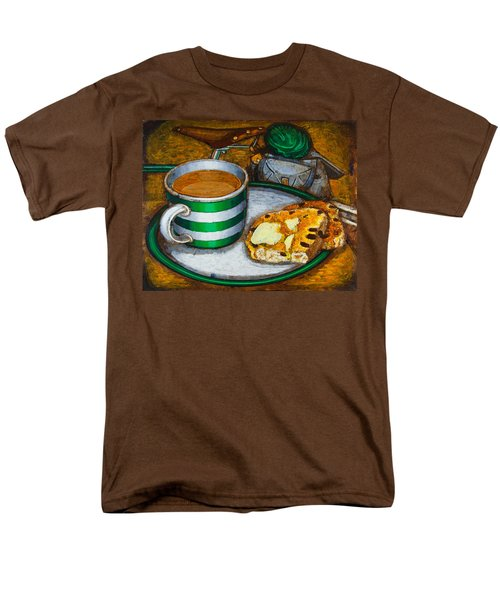 Still life with green touring bike T-Shirt by Mark Howard Jones