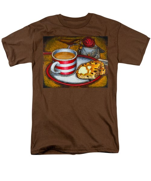Still life with red touring bike T-Shirt by Mark Howard Jones