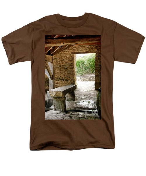 Stone Bench T-Shirt by Olivier Le Queinec