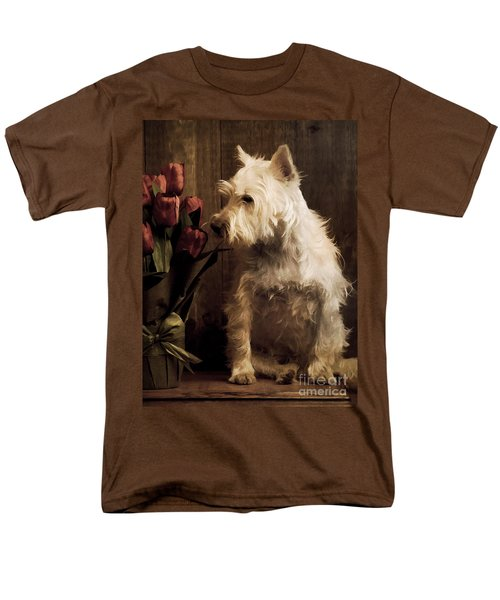 Stop and Smell the Flowers T-Shirt by Edward Fielding