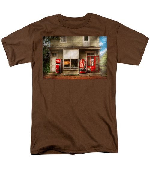 Store Front - Waterford Va - Waterford market  T-Shirt by Mike Savad
