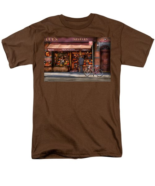 Store - Wine - NY - Chelsea - Wines and Spirits Est 1934  T-Shirt by Mike Savad