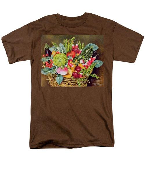 Summer Vegetables Men's T-Shirt  (Regular Fit) by EB Watts