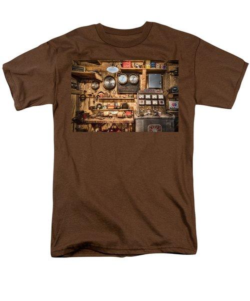 Sun Motor Tester T-Shirt by Debra and Dave Vanderlaan