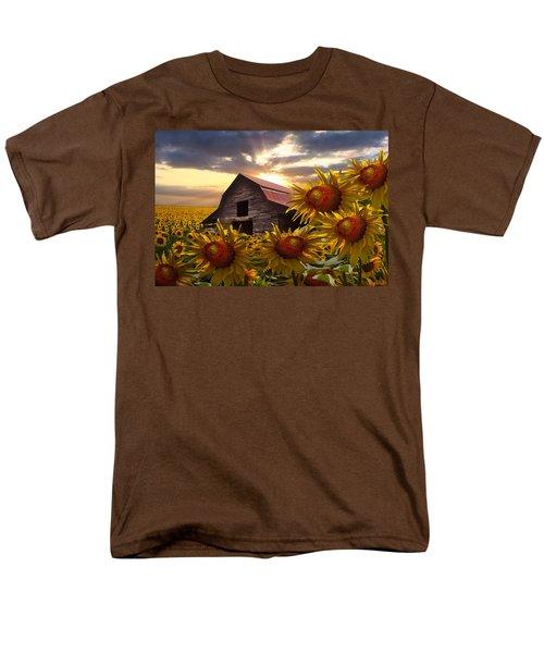 Sunflower Dance T-Shirt by Debra and Dave Vanderlaan