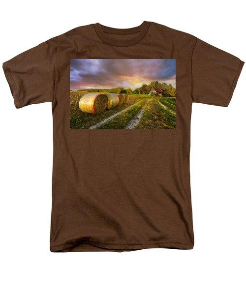 Sunset Farm T-Shirt by Debra and Dave Vanderlaan