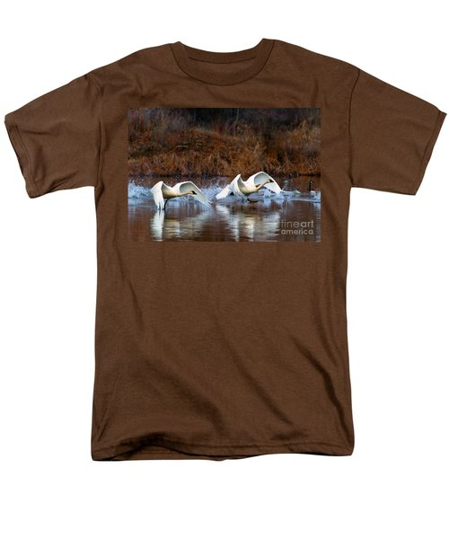 Swan Lake T-Shirt by Mike  Dawson