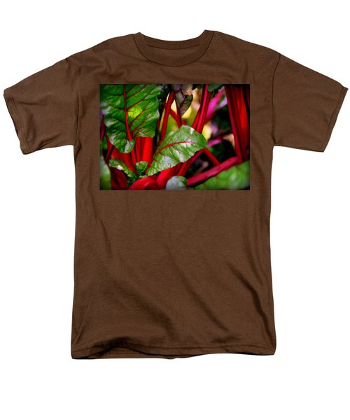 SWISS CHARD FOREST T-Shirt by KAREN WILES