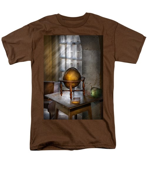 Teacher - Around the world T-Shirt by Mike Savad