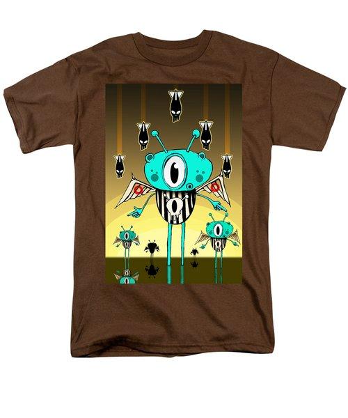 Team Alien Men's T-Shirt  (Regular Fit) by Johan Lilja