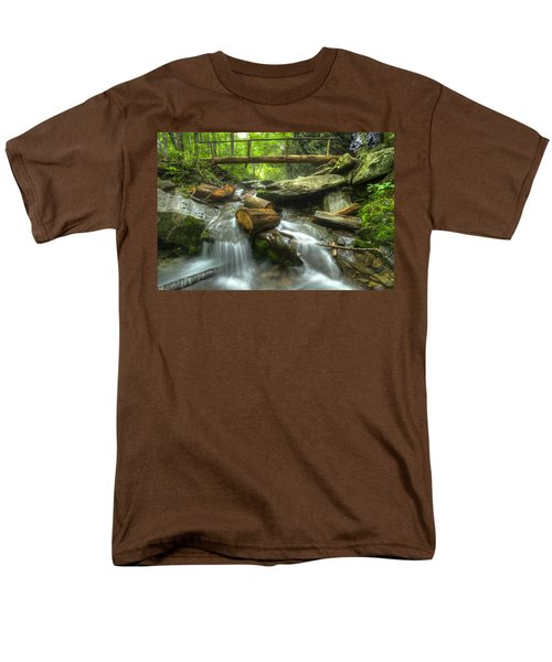 The Bridge at Alum Cave T-Shirt by Debra and Dave Vanderlaan