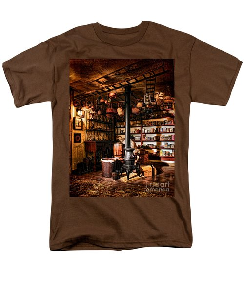 The General Store in my Basement T-Shirt by Olivier Le Queinec