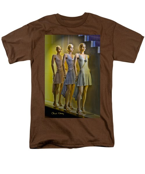 Three Of A Kind T-Shirt by Chuck Staley