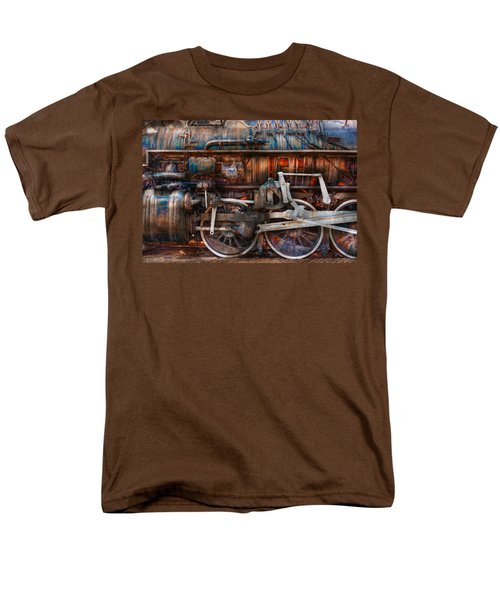 Train - With age comes beauty  T-Shirt by Mike Savad