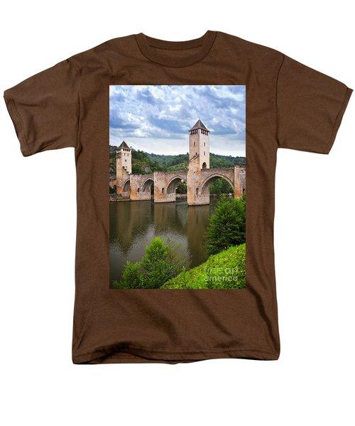 Valentre bridge in Cahors France T-Shirt by Elena Elisseeva