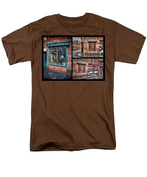 Victorian Shops T-Shirt by Adrian Evans