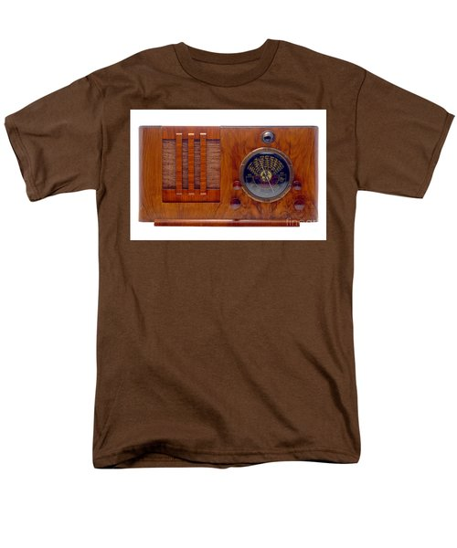 Vintage Radio T-Shirt by Olivier Le Queinec