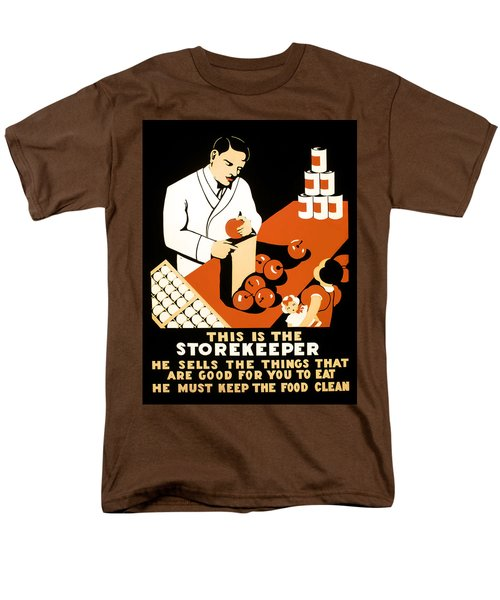 W P A  FOOD HYGIENE POSTER c. 1937 T-Shirt by Daniel Hagerman