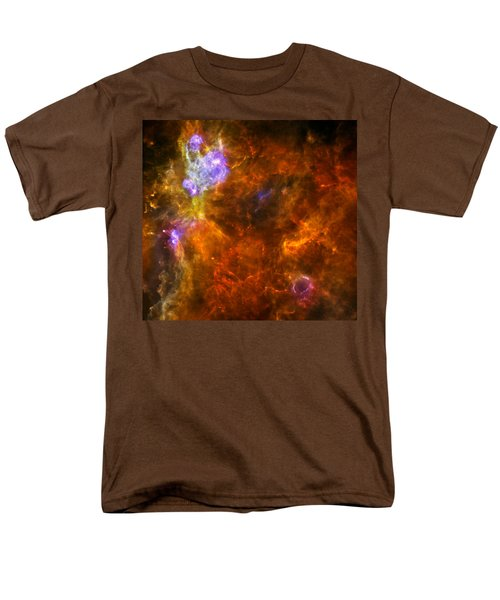 Men's T-Shirt  (Regular Fit) featuring the photograph W3 Nebula by Science Source