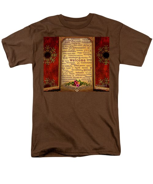 Welcome T-Shirt by Bedros Awak