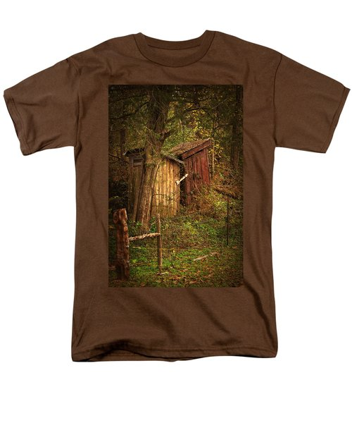 Which Way to the Outhouse? T-Shirt by Priscilla Burgers